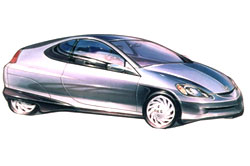 Honda Insight (Japan 1999)