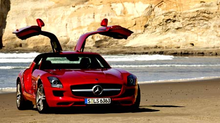 Mercedes-Benz SLS AMG (USA 2009)